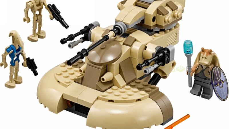 LEGO Star Wars AAT #75080 [Review]