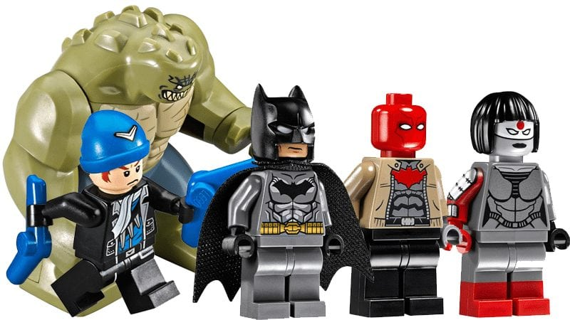 LEGO Super Heroes Minifigure Captain Boomerang from set 76055